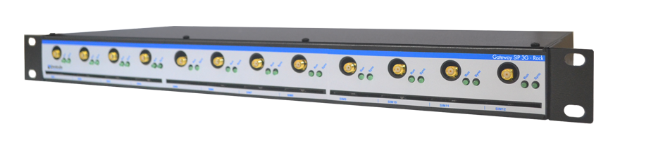Produto Gateway SIP 3G - Rack Pináculo
